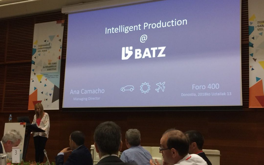 BATZ shares its experience during  FORUM 400 executive event