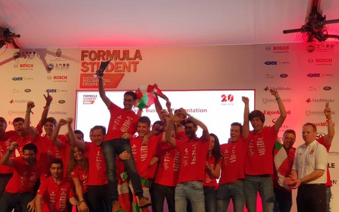 Formula Student Bizkaia completes a season full of success.