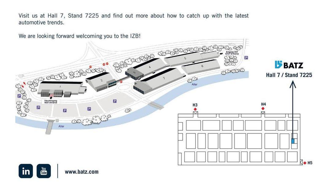 BATZ at the IZB 2018