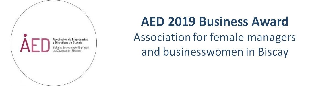 Ana Camacho, AED 2019 Business Award.