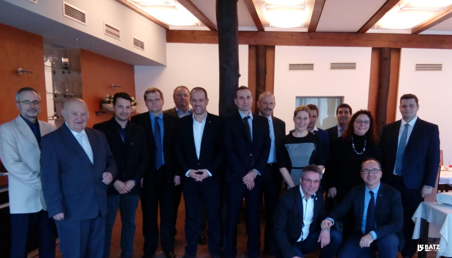 Moravian government and industry meets Batz czech