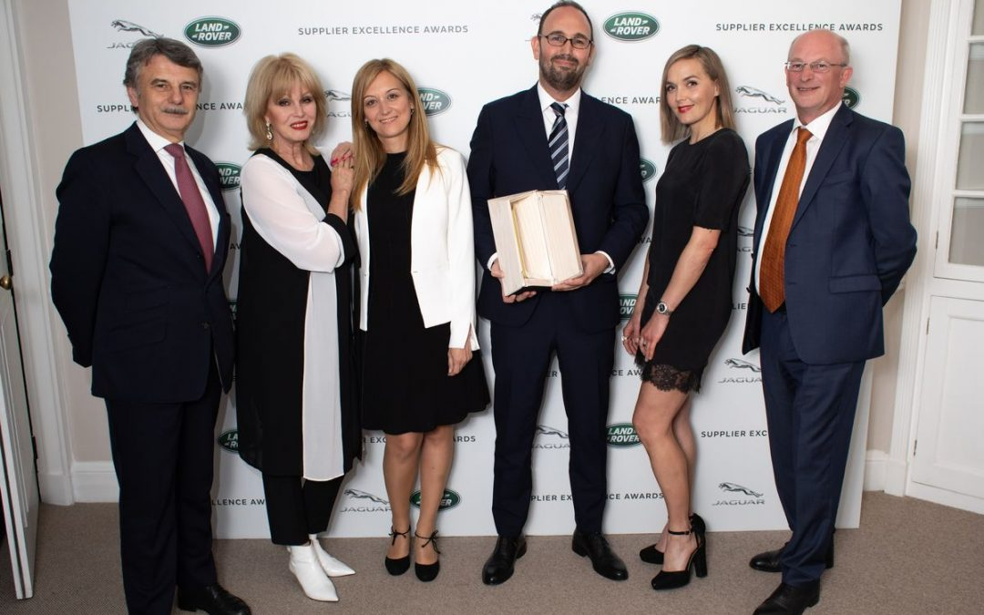 Jaguar Land Rover recognises Batz for its outstanding performance