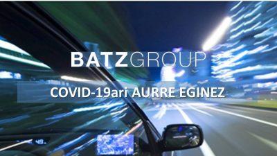BATZ  Group  COVID-19ari  aurre  eginez