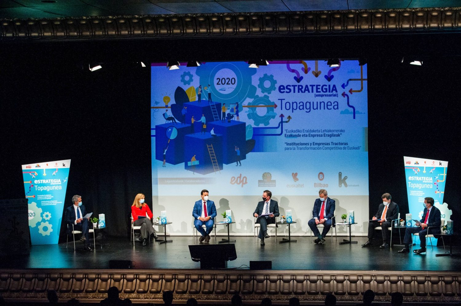 Institutions and companies driving the competitive transformation of the Basque Country